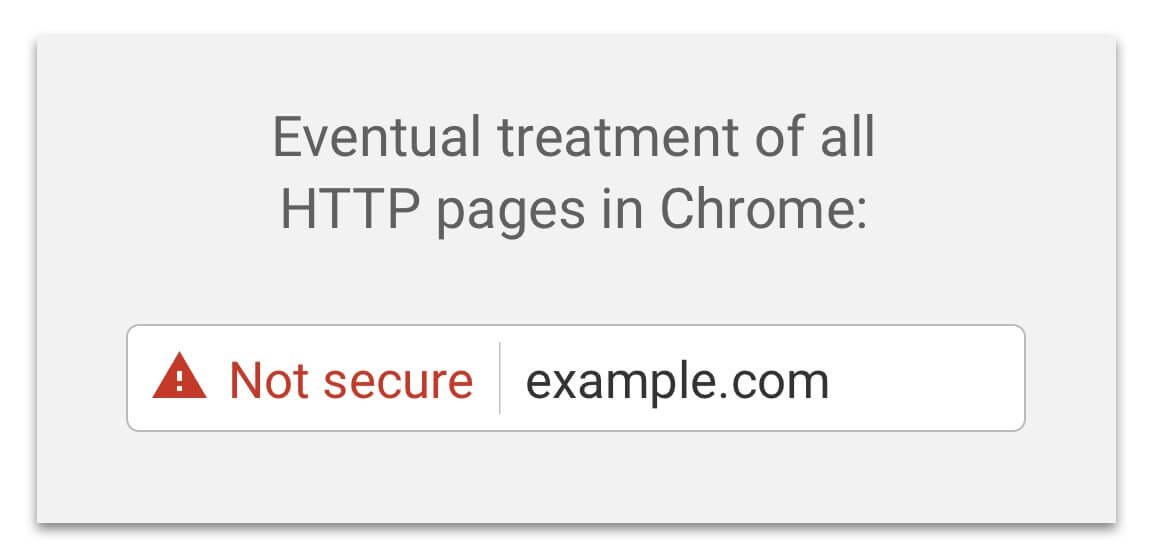 google chrome ssl warning